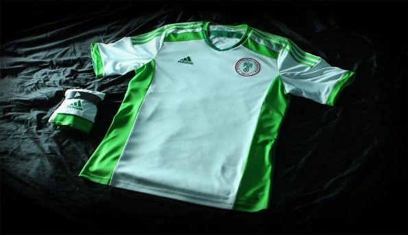 Kit Nigeria away 2014 adidas