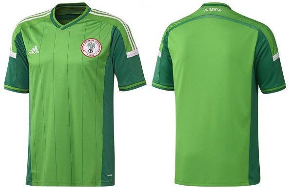 Maglia Nigeria adidas Mondiali 2014