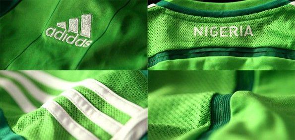Particolari kit Nigeria home 2014