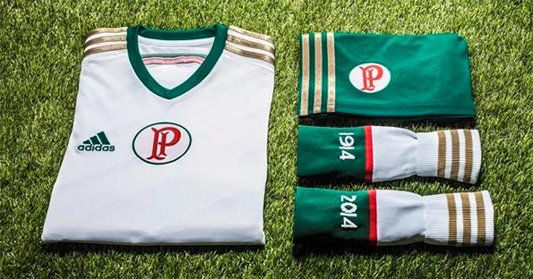 Divisa Palmeiras trasferta 2014