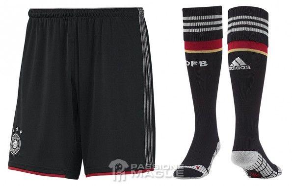 Pantaloncini calzettoni away Germania 2014
