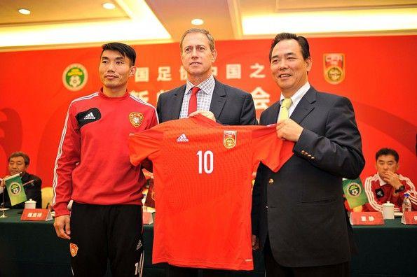 Presentazione maglia Cina 2014 adidas