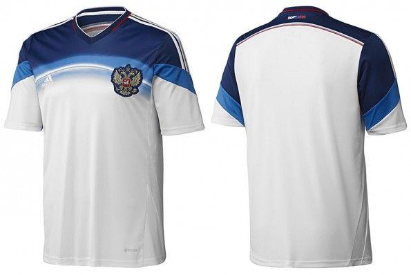 Seconda maglia Russia 2014 adidas