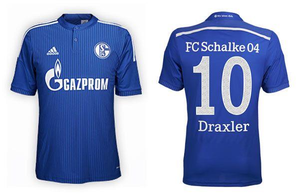 Maglia Schalke 04 2014-2015