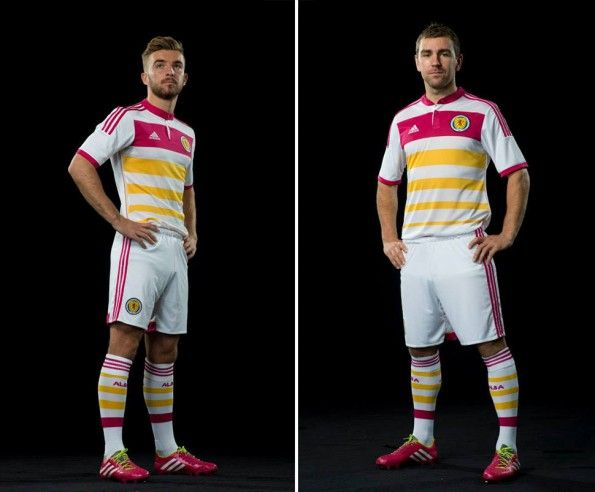 Scotland kit away 2014