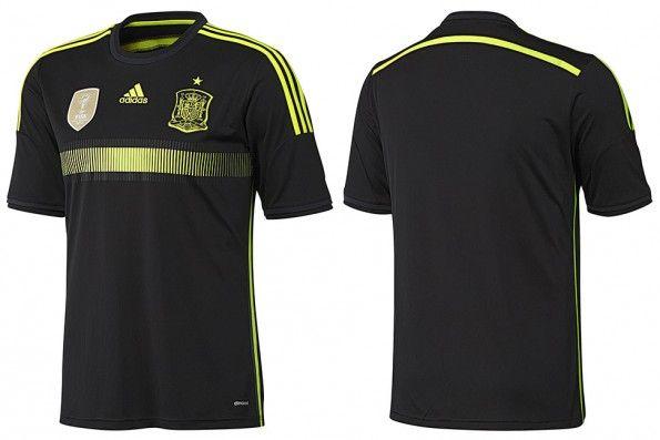 Seconda maglia Spagna Mondiali 2014