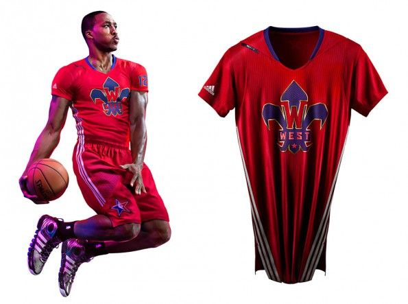 Kit NBA All-Star Game Western 2014