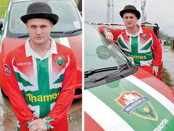 Windsor FC 2014, maglia e auto