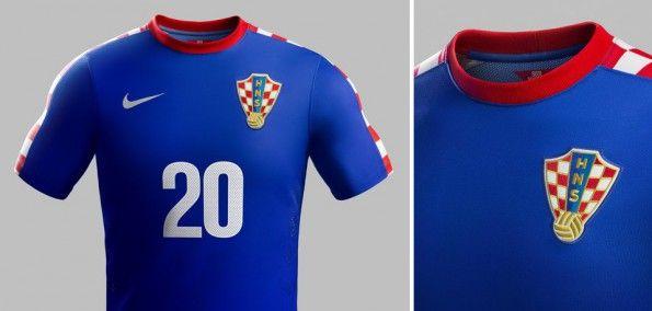 Croazia Maglia away 2014 nike