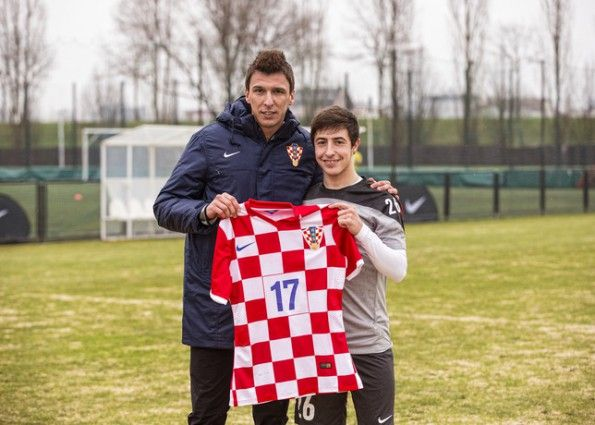 Mandžukić kit Croazia 2014 Nike Chance