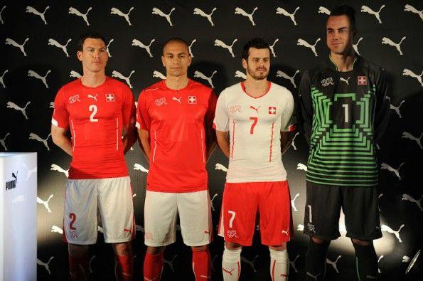 Divise Svizzera 2014 Puma