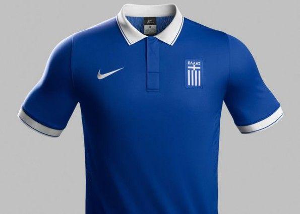 Grecia seconda maglia 2014 Nike