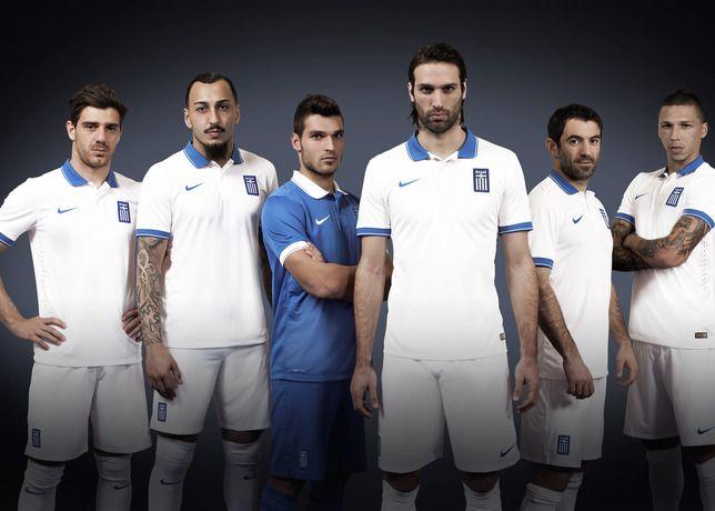 Kit Grecia 2014 Nike