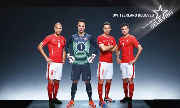 Kit Svizzera 2014 Puma presentazione