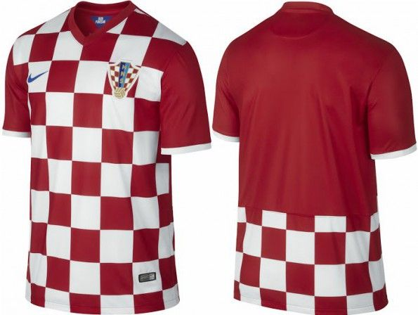 Maglia Croazia home 2014 Nike