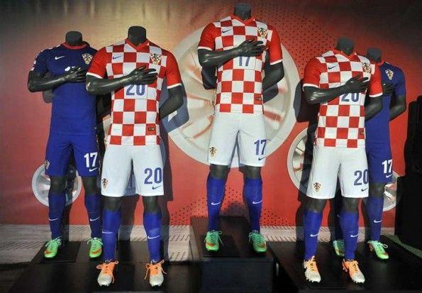 Maglie Croazia 2014 Nike presentazione