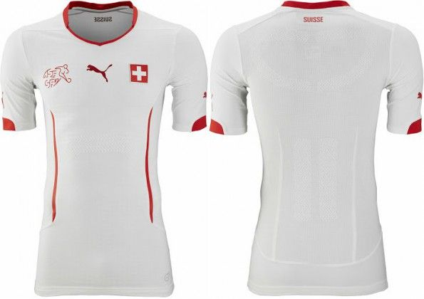 Svizzera maglia away 2014 puma
