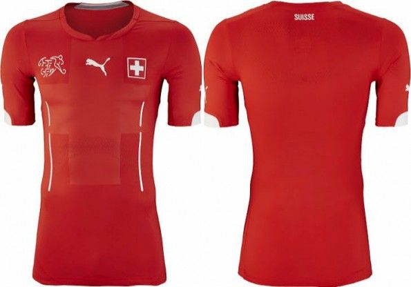 Svizzera maglia home 2014 Puma