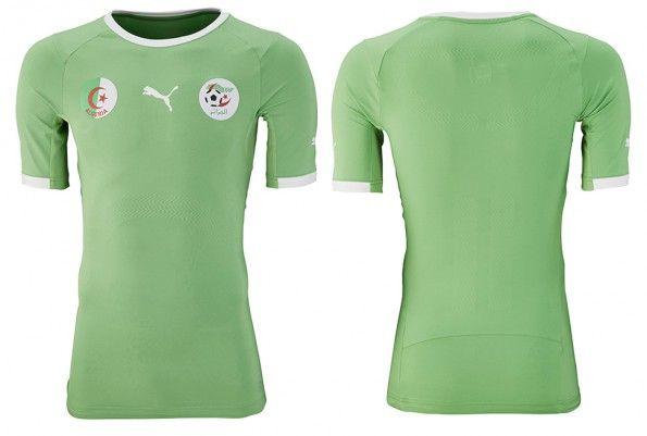 Algeria seconda maglia Mondiali 2014