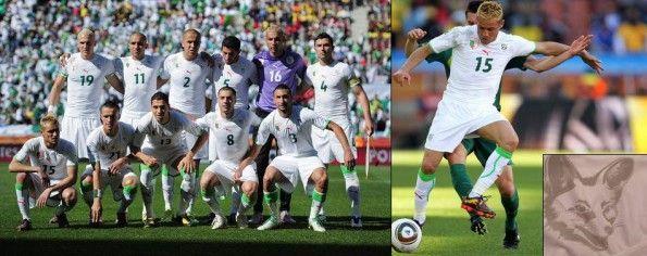 Algeria maglia home Mondiali 2010