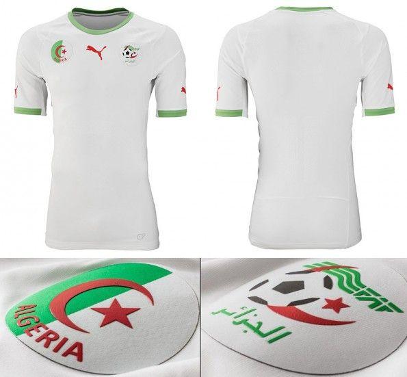 Maglia Algeria Mondiali 2014 home