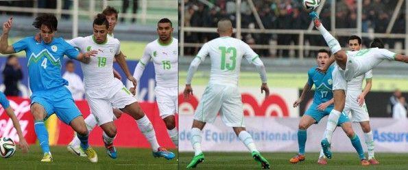 Algeria Slovenia amichevole 2014