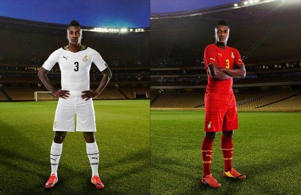 Asamoah divise Ghana 2014
