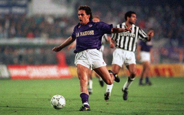 Fiorentina, Coppa UEFA 1989-1990, Roberto Baggio