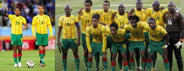 Seconda maglia Camerun 2010 Puma