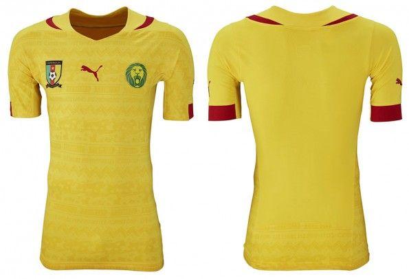 Camerun seconda maglia Mondiali 2014