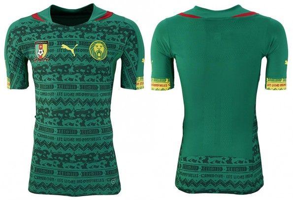 Maglia Camerun home 2014 Mondiali