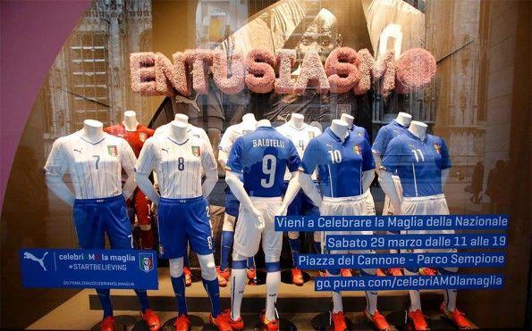 Celebriamo la maglia tour Milano