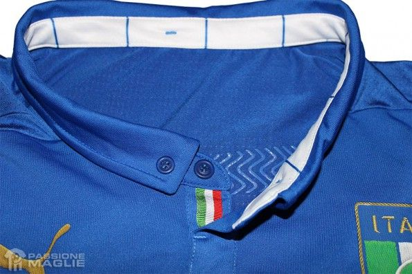 Colletto maglia Italia 2014 Puma