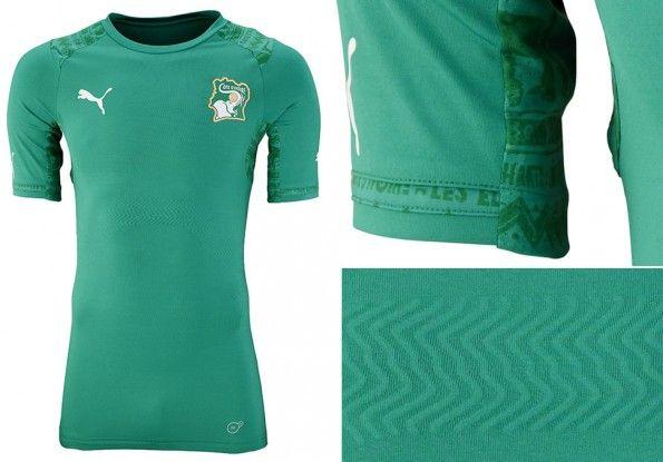 Seconda maglia Costa d'Avorio Mondiali 2014