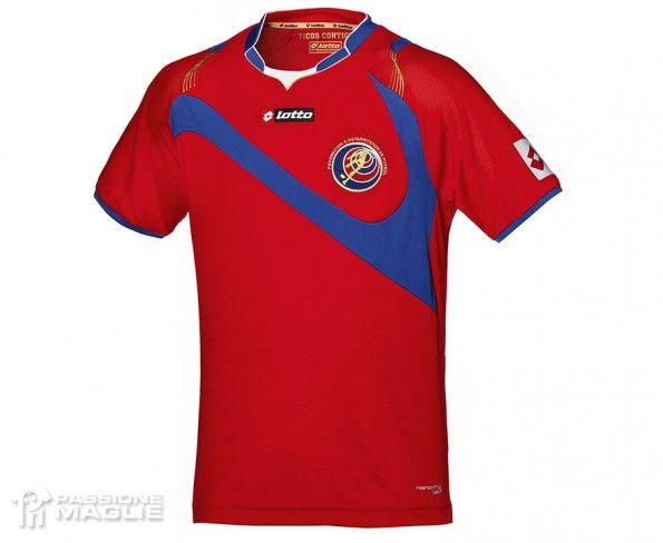 Maglia Costa Rica Mondiali 2014 Lotto