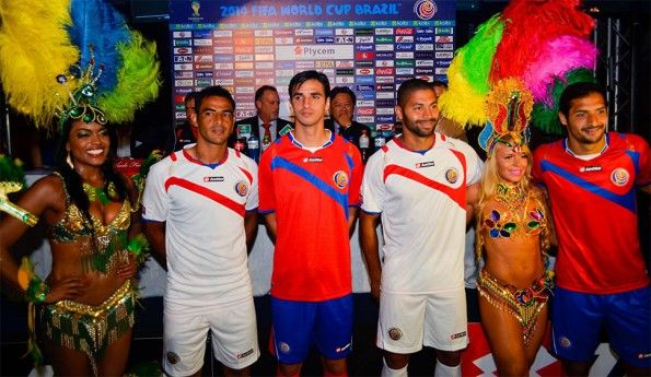 Costa Rica kit World Cup 2014
