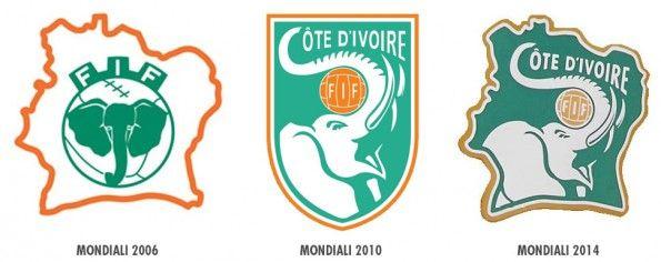 Stemmi maglie Costa d'Avorio Mondiali