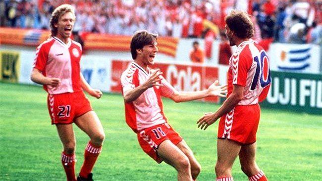 Danimarca 1986 kit Hummel