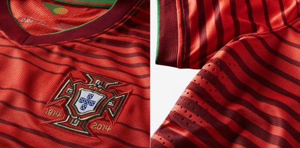 Dettagli kit home Portogallo 2014-2015