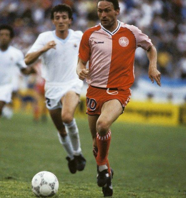 La divisa della Danimarca ai Mondiali 1986