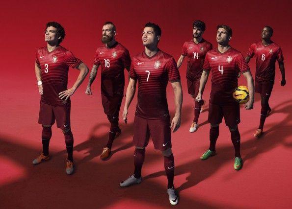 Kit Portogallo Mondiali 2014 Nike