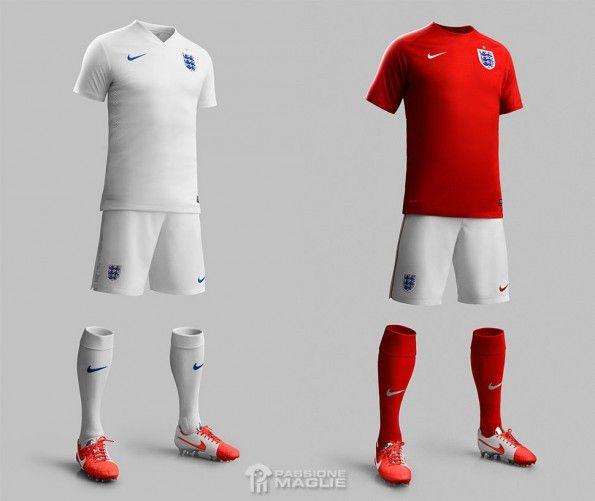 Divise Inghilterra Mondiali 2014 Nike