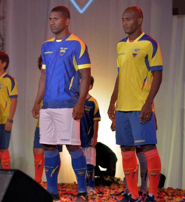 Seconda maglia Ecuador 2014 away