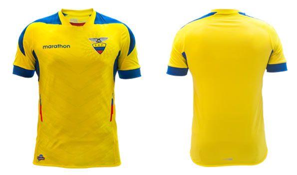Maglia Ecuador Mondiali 2014