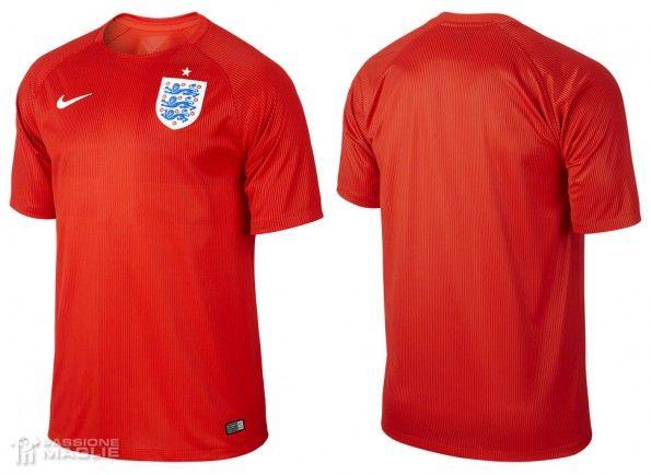 Seconda maglia Inghilterra 2014 away