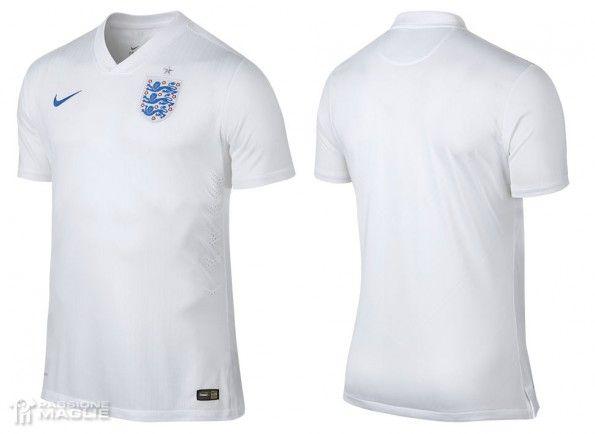 Maglia Inghilterra Mondiali 2014 home