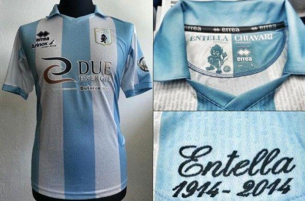 Virtus Entella prima maglia 2013-2014