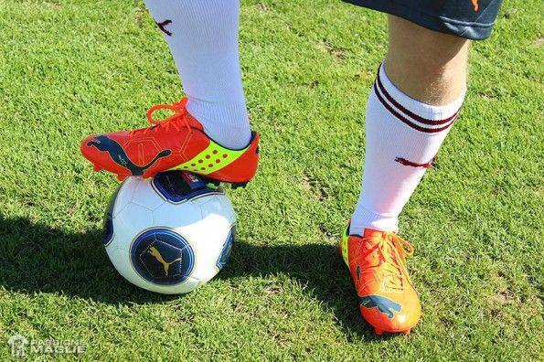 Test scarpe evoPower in campo