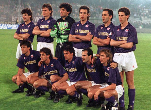 Fiorentina, Coppa UEFA 1989-1990