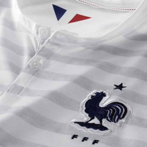 Colletto Henley maglia Francia away 2014